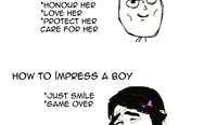 How to impress a girl vs. How to impress a boy