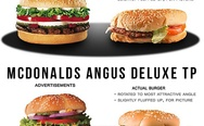Advertising Vs. Reality (Fast food)
