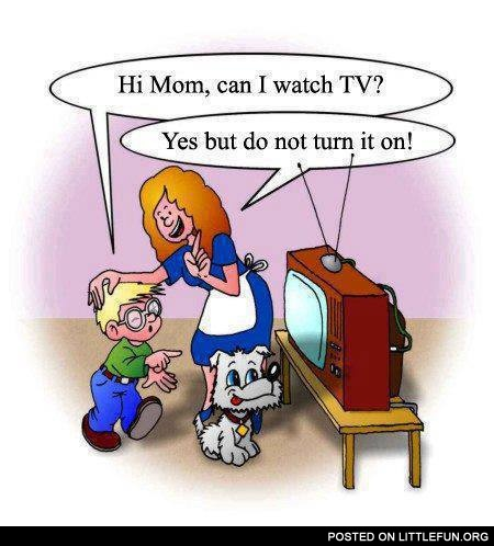 Can I watch TV?