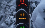 Funny traffic lights