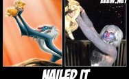 Lion King, nailed it