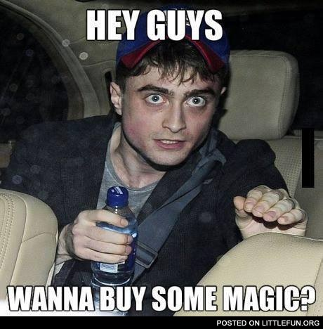 Hey guys, wanna buy some magic?