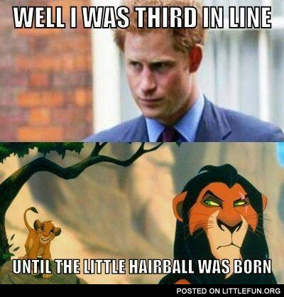 Prince Harry and Lion King