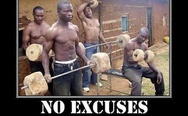 No excuses, train