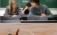 Apple, Nokia, Samsung and Sony