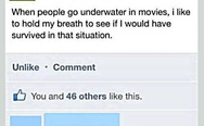 Underwater in movies