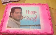 Happy swag cake