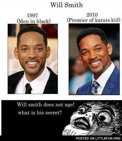 Will Smith does not age