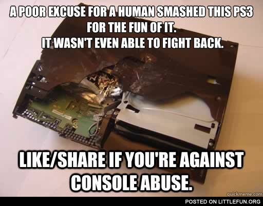 Stop console abuse