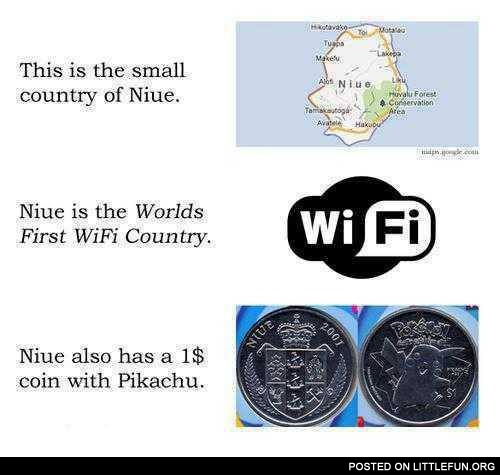 A small country of Niue
