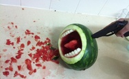 Watermelon headshot