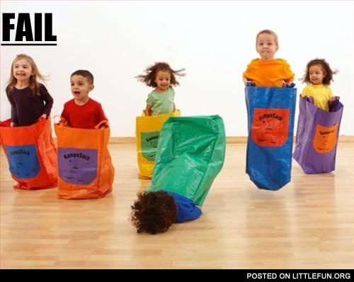 Sack Races Fail
