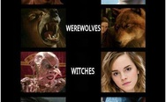Vampires, werewolves, witches, aliens - then and now.