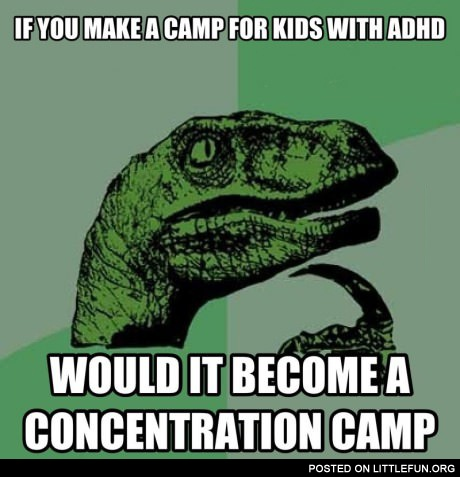 A camp for kids with ADHD