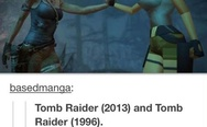 Tomb Raider 2013 and Tomb Raider 1996
