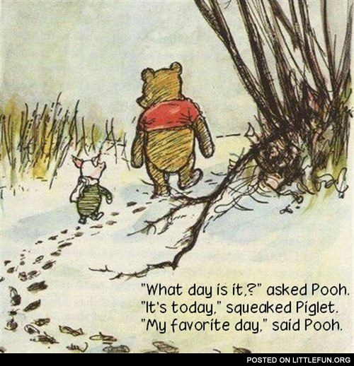 My favorite day