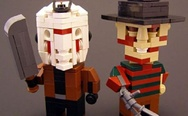 Lego Jason Voorhees and Freddy Krueger