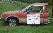 The car after divorce