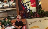 KFC, we finally found him