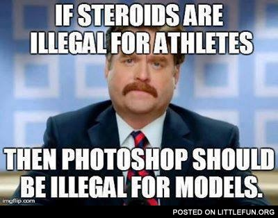 If steroids are illegal for athlets