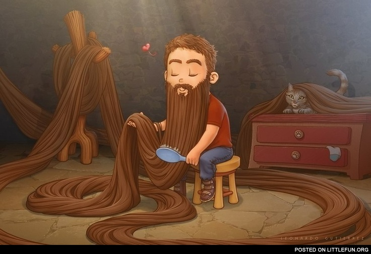 Rapunzel, male version