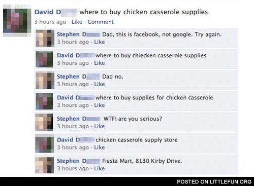 Where to buy chicken casserole