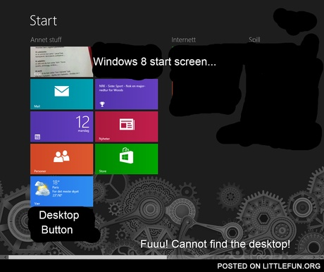 Windows 8.. f**k you!