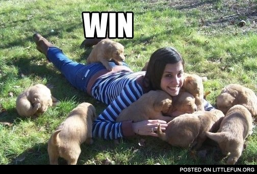 Puppy Doggy Style Win
