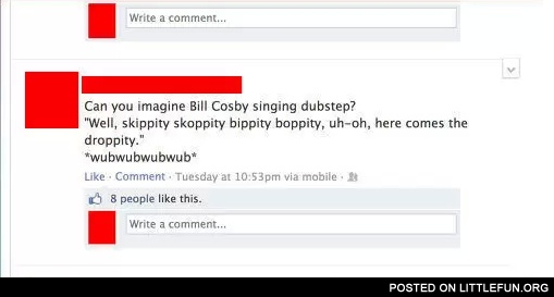 Bill Cosby singing dubstep