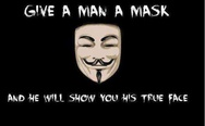 Give a man a mask
