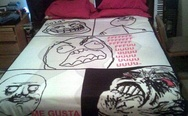 Meme bed sheet
