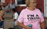 I'm a virgin, but this is an old shirt