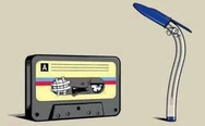 Cassette and pen