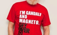 """I'm Gandalf and Magneto"" T-shirt"