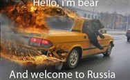 Hello, I'm bear and welcome to Russia