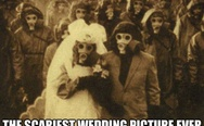 The scariest wedding picture ever