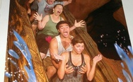 Getting Handsy On Splash Mountain