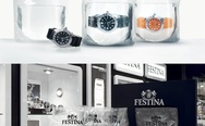 These diving watches by Festina Profundo are packaged and sold in clear bags filled with distilled water