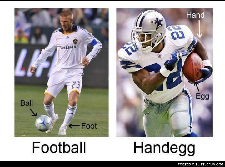 Football vs. Handegg
