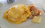 Sleeping bear omelet