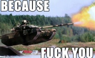T-90. Because f**k you