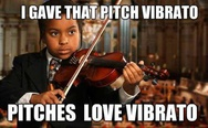I gave that pitch a vibrato