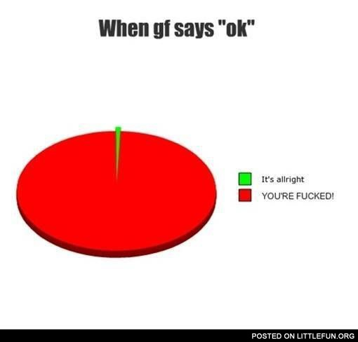 When girfriend says ok
