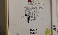 Good dad vs. Bad dad