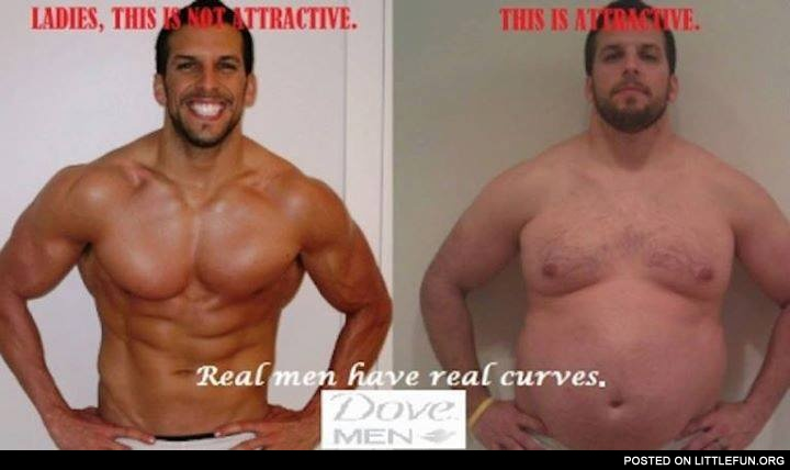 Real men have real curves