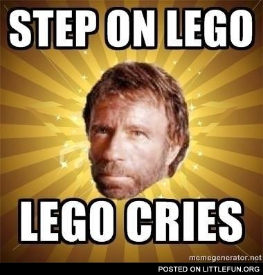 Chuck Norris and Lego