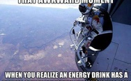 That awkward moment when you realize an energy drink has a better space program than your nation