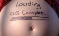 Loading baby, 50% complete