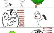 Ball on the tree