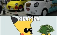 Pikachu car. Shut up and take my money.